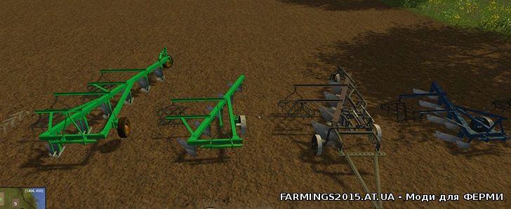 скачать мод для Farming Simulator 2015 плуг - фото 11