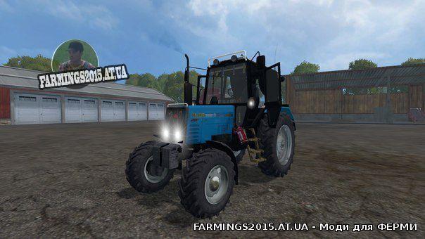 Скачать моды для farming simulator 2015 мтз 892